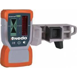 Rotační laser NEDO Sirius HV green, automatický. Sada.
