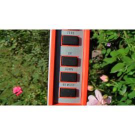 Digitální měřící tyč NEDO mEsstronic do 8m.