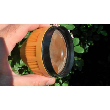 Optický hranol Topcon.
