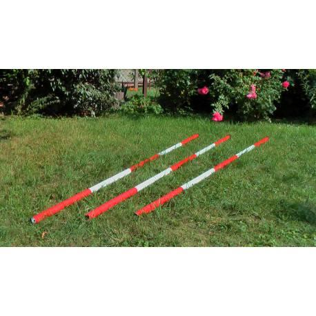 Ochranná tyč, délka 2,5 m, průměr 38mm, tl. 1,25mm.