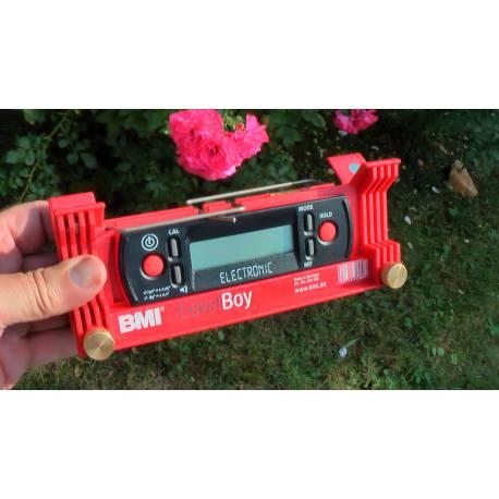 BMI Levelboy 20 cm digitální vodováha 0,5mm/1m