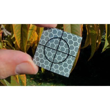 Odrazný štítek samolepící 3 x 3 cm