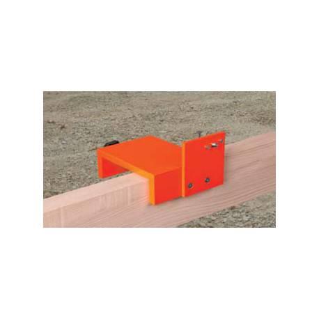 Adaptér NEDO na stavební lavičky pro umístění detektoru.