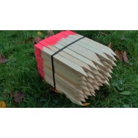Vytyčovací kolík dřevěný, délka 30cm