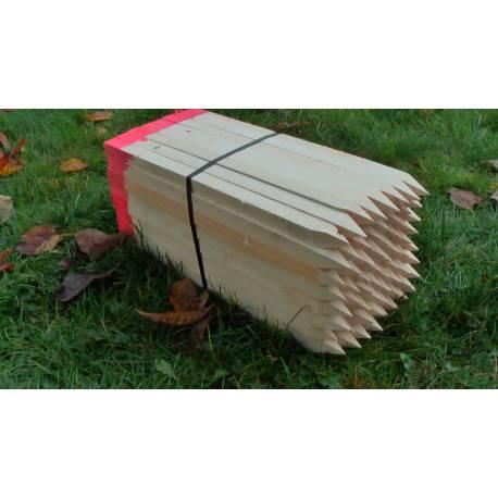 Vytyčovací kolík dřevěný, délka 50cm