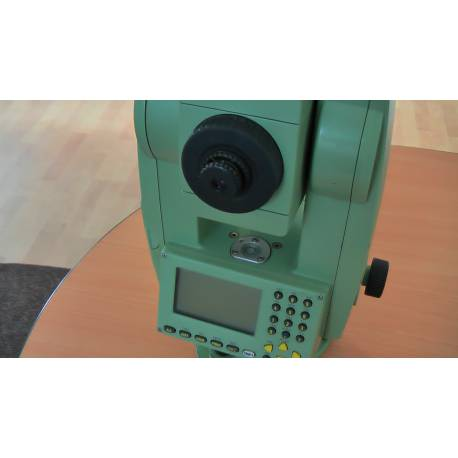 Total station LEICA TCR 703, used.