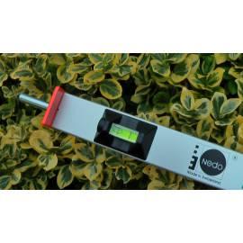 Měřící tyč NEDO mEssfix s hroty, 0,96 - 4,10m.
