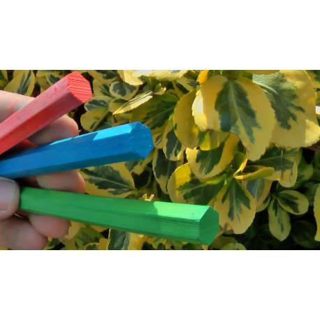 Lesnické křídy zelené 12 ks