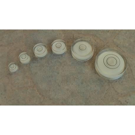 Kruhová libela průměr 12mm.