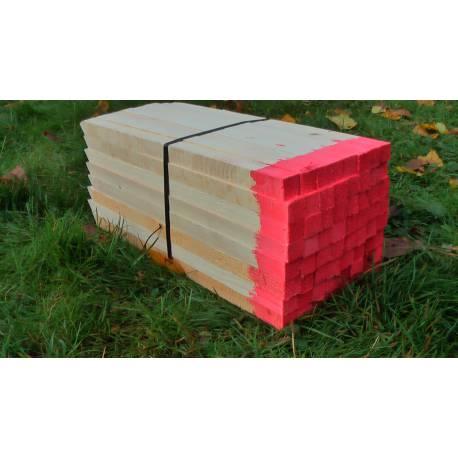 Vytyčovací kolík dřevěný, délka 63-67cm
