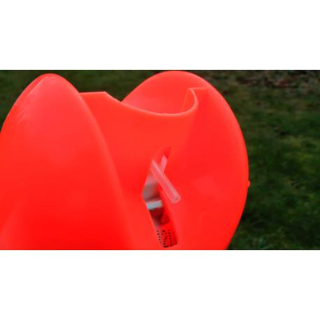Značkovací sprej Soppec Fluo T.P., oranžový, balení 12ks