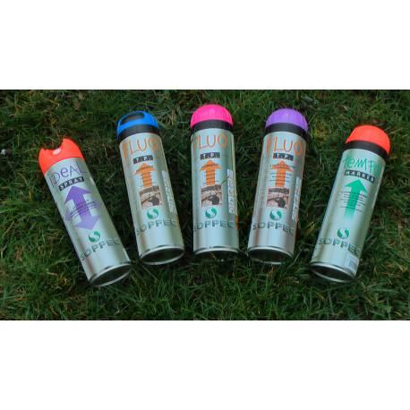 Značkovací sprej Soppec Fluo T.P., růžový, balení 12ks