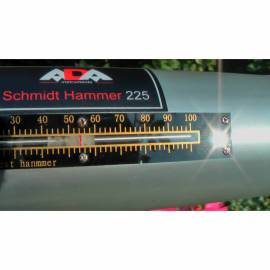 Tvrdoměr Schmidtovo kladívko ADA 225 s prvotní kalibrací