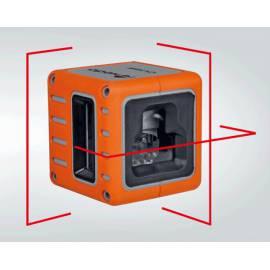 Křížový laser Nedo Cube Green, multičarový
