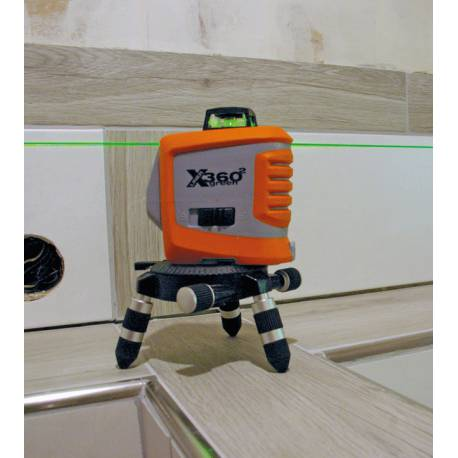Multičarový laser Nedo X-liner 360° green