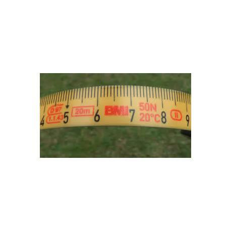 Pásmo BMI Isolan 15m, odsazení nuly B
