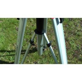 Stativ NEDO aluminiový těžký, teleskopický sloupek.