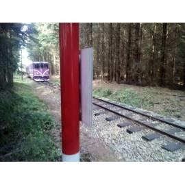Ochranná tyč měřického bodu