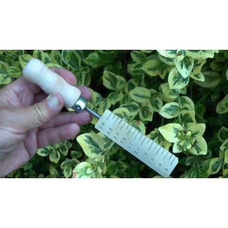 Měřicí klínek mosazný do 20mm