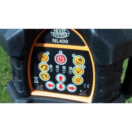 Rotační laser Nivel system NL 400 pro obě roviny