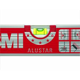 Vodováha BMI ALUSTAR, 180cm, 2 libely.