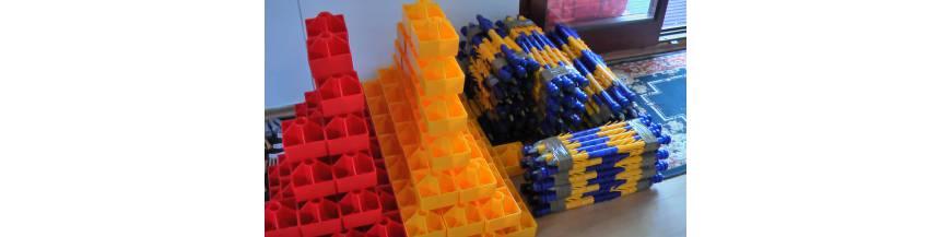 Mezníky geodetické, kolíky vytyčovací
