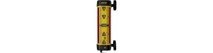 Laserové přijímače pro řízení stavebních strojů