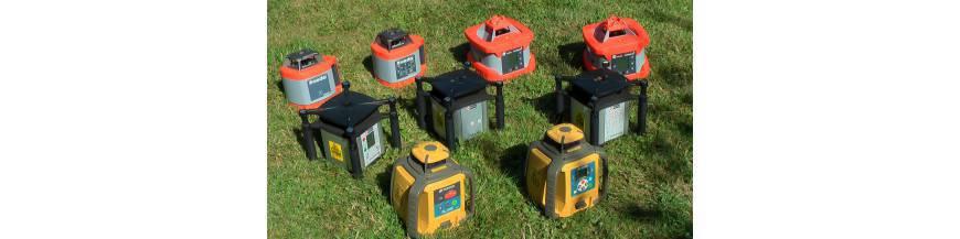 Rotační lasery přehled