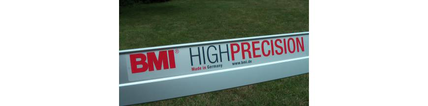 Vodováhy vysoké přesnosti BMI HIGHPRECISION.